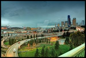 Seattle from Rizal Park by tt83x