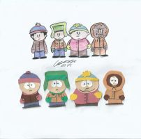 South Park, Cutouts and Traditional by Karda4124