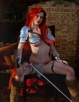 Red Sonja - Perhaps you'd like to rephrase that? by Vad-mig-orolig