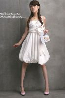 korean elegant girl's Dress by fashionclothing4u