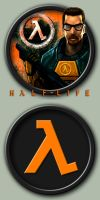 Half-Life Icons by kodiak-caine