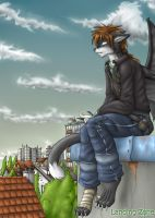 I on the roof again by LandingZone