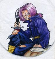 Trunks of Dragon Ball by chicharon