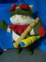 Teemo plushie by PollyRockets