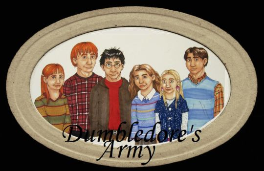 Dumbledore's Army- colored by Chemartist