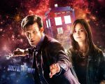 Doctor Who Wallpaper - 11th Doctor and Clara by WERA1166