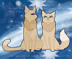If you'll be my star I'll be your sky by Purrple-Kat