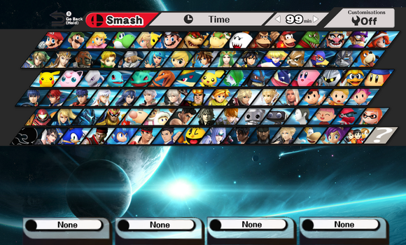 Smash Nx Fan Roster by ThePontusAndersson