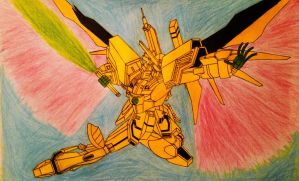 Request: Shining Destiny Gundam by Supreme-Nitro-Man
