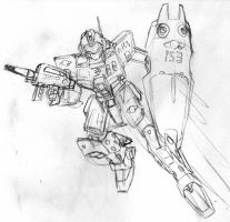 GM Sniper II AEUG sketch by Blayaden