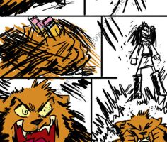 +ANGRY_BEAR_Comic_EnemyGirls+ by rockandtree
