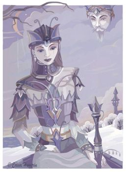 Ice Queen by caisamargta