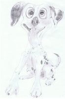 Dalmation by ConkerTSquirrel