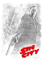 Sin City - Bruce Willis by mikepacker