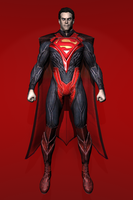 Injustice : Gods Among Us - Superman [Regime] by IshikaHiruma
