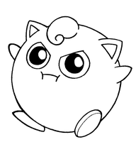 JigglyPuff Lineart by FlintofMother3