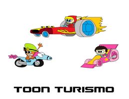 Toon Turismo: DLC Racers by thekirbykrisis