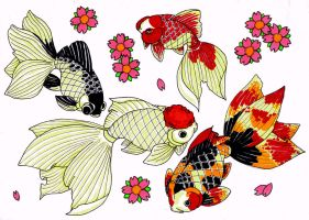 goldfish japanese flash sheet by ModMii