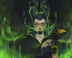 Maleficent by Rin54321