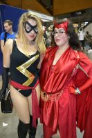 Ms Marvel and Scarlet Witch 2015 Sydney Supanova by rbompro1