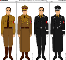 Rudolf Hess's Uniforms by Tounushifan