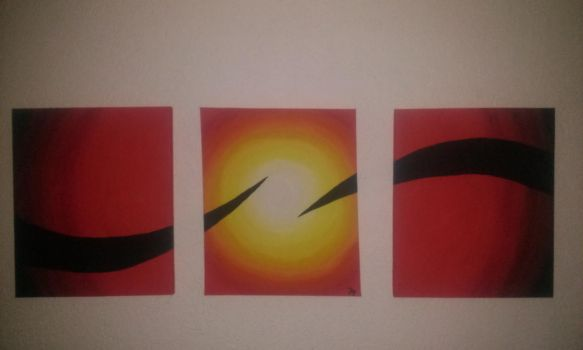 The End of the Sun Triptych by In54nity