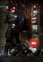 Judge Dredd by Vilk42