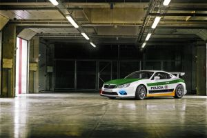 Skoda Octavia Coupe - Cop car by GroveIsNeXT