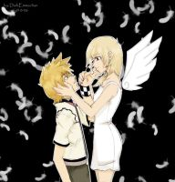 AngelNamine and Roxas by darkemmachan