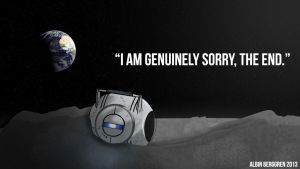 Portal - I am Genuinely Sorry by AlbinBerggren