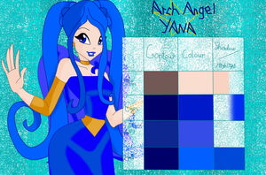 Arch Angel Yana's palette by musasgal