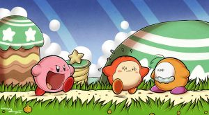 Kirby ....the hero ....sure x'D by Lumary92