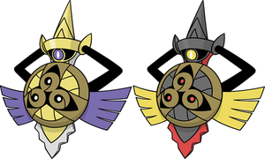 Shiny Aegislash Dream World by KrocF4