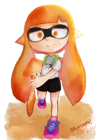 Splat Splatoon by DonutDespair
