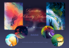 Rewritten Charity Artbook Preview by uchuubranko