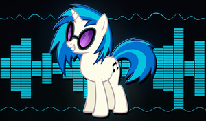 Vinyl Scratch Wallpaper by alanfernandoflores01