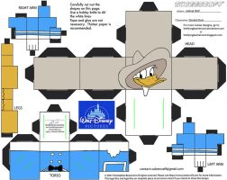 Dis49: Donald Duck Cubee by TheFlyingDachshund