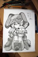 YOSHINO - Date A Live (TRADITIONAL) by Zer0-Slayer