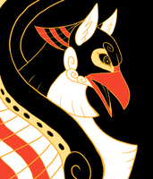 Greek Vase Comm. 1 - Fumei by KaylaTheDragoness