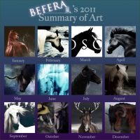 Bef's 2011 Summary of Art by Befera