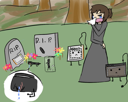 Funeral de tablets(?) by KasumiNightmare