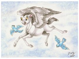 Little Pegasus and Friends by DolphyDolphiana