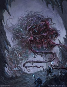 Charnel Colossus by SpiralMagus