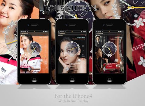 LV_iphone_theme for iPhone4 HD by motioncg
