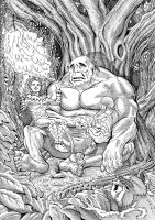 The burden of the giant by Szigeti