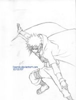4th Hokage Yondaime by lizardz
