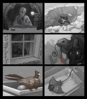 Zoom sketches for hidden object games (part 3/4) by Okha