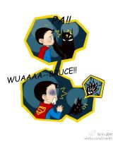 Batman and Superman by huer13