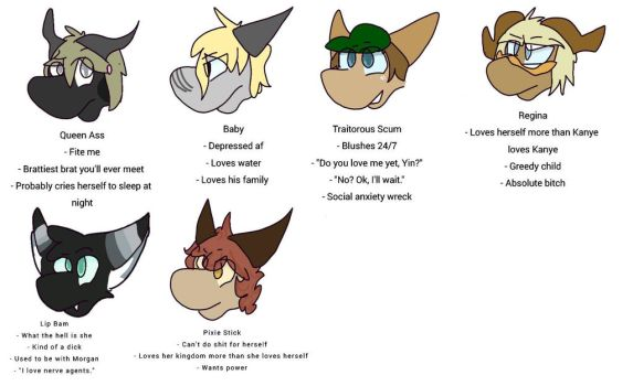 Tag Yourself Meme by Alphannel