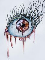 an eye by Piczz